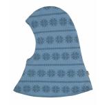 Joha tuukrimüts kahekordne meriinovillane, sinine snowflake