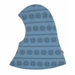Joha tuukrimüts kahekordne meriinovillane, sinine snowflace
