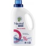 Neutral vedel pesuvahend Silk&Wool wash 15 pesukorda 750ml