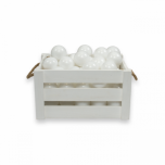MEOW baby lisapallid pallimerele valge (50tk)