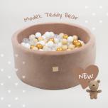MEOW baby pehme pallimeri Teddy Bear, 250 palliga