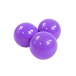 MEOW baby Lisapallid Pallimerele- Violett (50 tk)