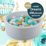 MEOW baby pehme pallimeri Dreams, 250 palliga