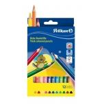 Pelikan värvipliiats 12 värvi kolmnurkne