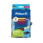 Pelikan Kreativfabrik vahakriitide moodul 8 värvi