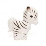Petit Monkey looduslikust kummist mänguasi Sebra Zippy