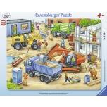 Ravensburger plaatpusle 40 tk Suured tööautod 4+
