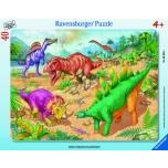Ravensburger plaatpusle 40 tk Dinosaurused 4+