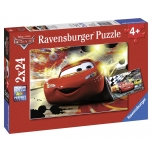 Ravensburger pusle 2x24 tk Autod 4+