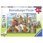Ravensburger pusle 2x24 tk Piraadid 4+