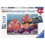 Ravensburger pusle 2x24 tk Nemo 4+