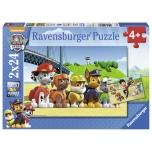 Ravensburger pusle 2x24 tk Patrullkoerad 4+