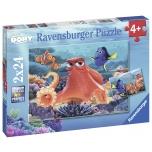 Ravensburger pusle 2x24 tk Dory 4+