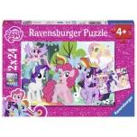 Ravensburger pusle 2x24 tk Minu väike poni 4+