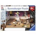 Ravensburger pusle 2x24 tk Lemmikloomade salajane elu 4+