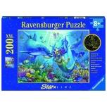 Ravensburger pusle 200 tk Veealune paradiis 8+