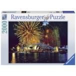 Ravensburger pusle 2000 tk Saluut Sydneys 10+
