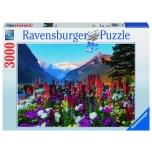 Ravensburger pusle 3000 tk Lillelised mäed 10+