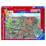 Ravensburger pusle 1000 tk Amsterdam 10+