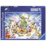 Ravensburger pusle 1000 tk Disney jõulud 10+