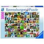 Ravensburger pusle 1000 tk Lõbusad loomad 10+