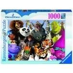 Ravensburger pusle 1000 tk Multikategelased 10+
