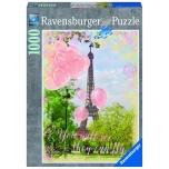Ravensburger pusle 1000 tk Eiffeli Torni unistused 10+