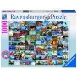 Ravensburger pusle 1000 tk 99 kaunist kohta USA-s 10+