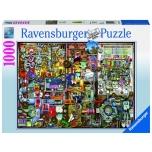 Ravensburger pusle 1000 tk Leiutajate töölaud 10+