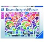 Ravensburger pusle 1000 tk Lainete mosaiik 10+