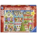 Ravensburger pusle 1000 tk Lemmikloomade jõulud 10+