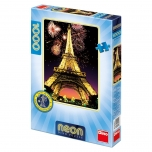 Dino neon pusle 1000 tk Eiffeli torn 10+