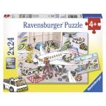 Ravensburger pusle 2x24 Lennujaam