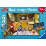 Ravensburger pusle 2x24 tk. Lotte