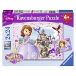 Ravensburger pusle 2x24 Princess Sofia