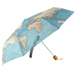 Sass & Belle Vintage Map kokkupandav vihmavari