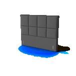 Sleepwell peatsiots BLACK KRONANG 120cm erinevad värvid