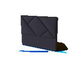 Sleepwell peatsiots BLACK GEOMETRY 90cm erinevad värvid