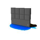 Sleepwell peatsiots BLACK KRONANG 90cm erinevad värvid