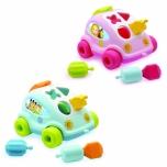Smoby kujunditega auto sinine või roosa