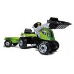 Smoby traktor Farmer MAX +käru
