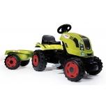 Smoby traktor Claas Farmer XL +käru