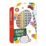 Stabilo ergonoomilised värvipliiatsid paremakäelisele 12 värvi+teritaja