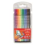 Stabilo Pen 68 tindipliitas 10 värvi
