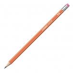Stabilo harilik pliiats 160 HB kustukummiga oranž