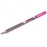 Pelikan harilik pliiats Combino B kolmnurkne jäme roosa