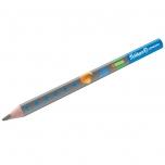Pelikan harilik pliiats Combino B kolmnurkne jäme sinine