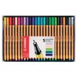 Stabilo Point 88 tindipliiats 25 värvi exclusive