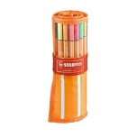 Stabilo Point 88 tindipliiats 30 värvi rullikeeratavas kotis