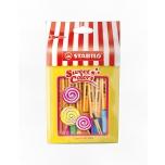Stabilo vildikad Lollipop Stabilo Point 88 15 värvi